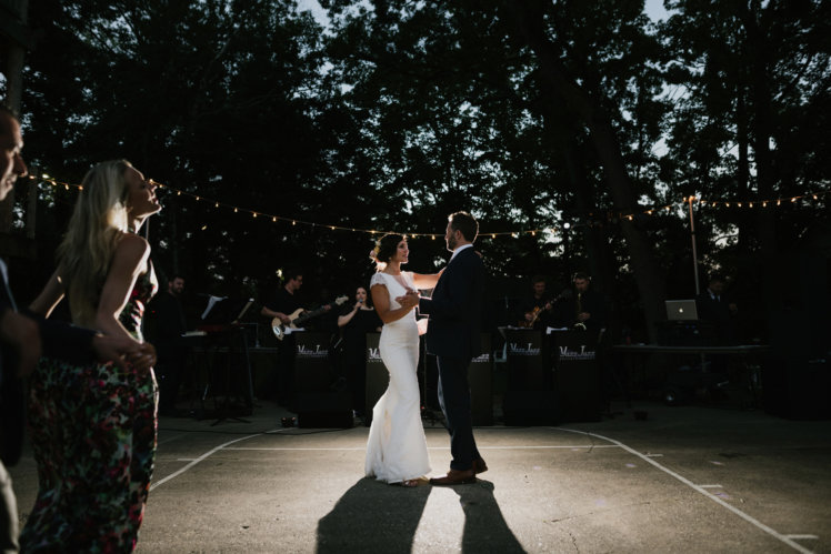Amazing wedding dance floor